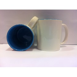 Inner Coloured Mug - Light Blue 11OZ