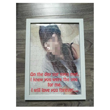 A4 Puzzle (120 pcs) - With Frame