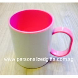 INNER COLOURED POLYMER MUG 11OZ