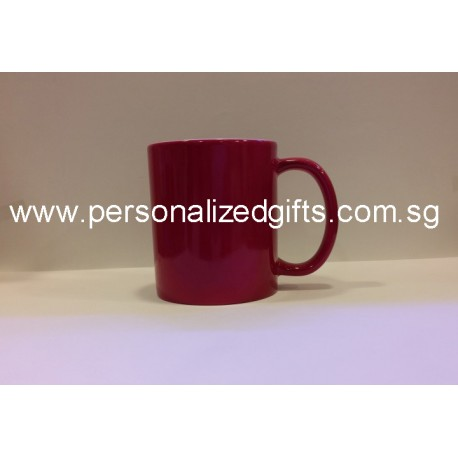 Colour Changing Mug - Dark Pink 11OZ