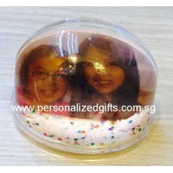 Acrylic Coin Bottle & Photo Frame