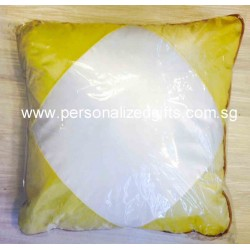 LARGE SQUARE CUSHION GOLD