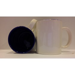 Inner Coloured Mug - Dark Blue 11OZ