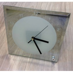 CRYSTAL PHOTO CLOCK