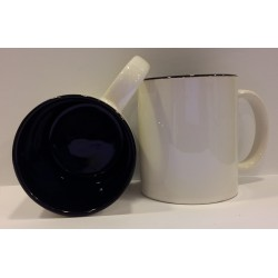 Inner Coloured Mug - Black 11OZ