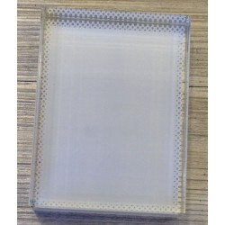 Vertical T Crystal Photo Block