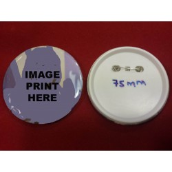 Button Badges 75mm