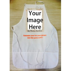 Customized Photo White Apron