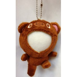 Customized Your Photo Face Soft Toy Brown Bear