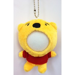 Customized Your Photo Face Soft Toy Yellow Bear