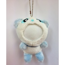 Customized Your Photo Face Soft Toy Blue Panda