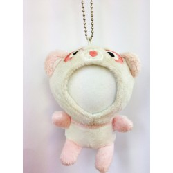 Customized Your Photo Face Soft Toy Pink Panda