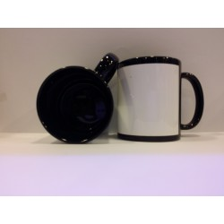 Full Coloured Mug - Black 11OZ