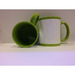 Full Coloured Mug - Green 11OZ
