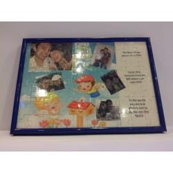 A5 Puzzle (80 pcs) - With Frame